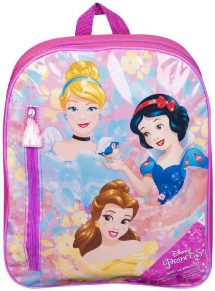 Disney Princess Backpack Filled with Stationary